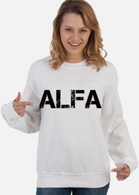 "Bluza bez kaptura ""ALFA"" damska"