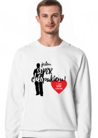 Jestem Super Chłopakiem i Mam Super Dziewczynę - bluza z nadrukiem