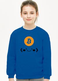 Bluza dziecięca Bitcoin