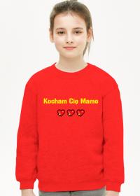 Bluza dziecięca Kocham Cię Mamo