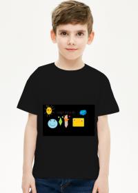 Koszulka Emotki czarna