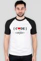 Koszulka męska code with style