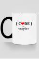 Kubek kolorowy code with style