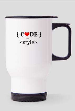 Kubek termiczny code with style