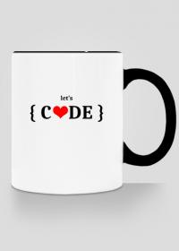Kubek kolorowy let's code