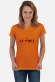 Koszulka damska let's code