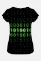 Koszulka damska binary code