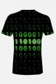 Koszulka męska binary code