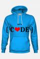Bluza damska z kapturem let's code