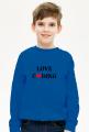 Bluza dziecięca love coding