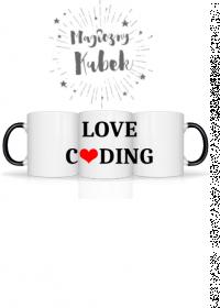 kubek magiczny love coding