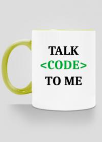 Kubek kolorowy talk code to me