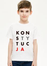 Konstytucja koszulka dziecięca chłopięca (różne kolory)