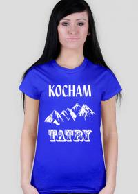 Kocham Tatry - Damska Koszulka Z Nadrukiem