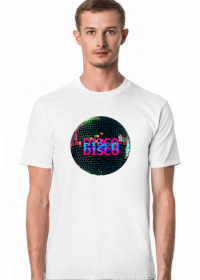 DISCO ball męska koszulka