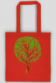 Eco torba serduszkowe drzewo (jednostronna)