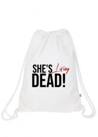 She's living dead! - worek sportowy