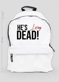 He's living dead! - plecak męski