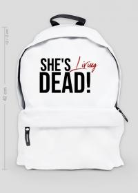 She's living dead! - plecak damski