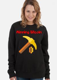 Damska bluza Bitcoin