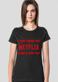 Koszulka Damska Netflix