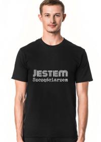 Koszulka Męska: Jestem szczęściarzem