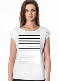 GEOMETRY paskowiec - T-shirt damski