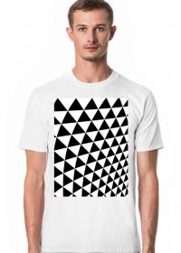 GEOMETRY trójkąty - T-shirt męski