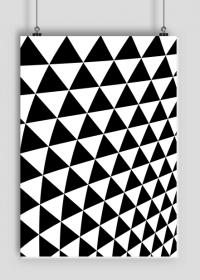 GEOMETRY trójkąty - plakat A2