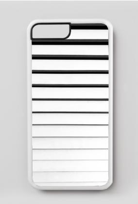GEOMETRY paskowiec - iPhone 7 Plus, iPhone 8 Plus case black