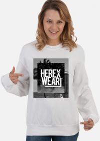 Bluza damska z nadrukiem hereXWear