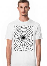 GEOMETRY kołowrotek - T-shirt męski