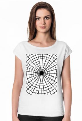 GEOMETRY kołowrotek - T-shirt damski