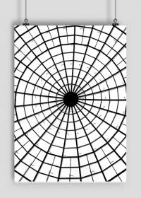 GEOMETRY kołowrotek - plakat A2