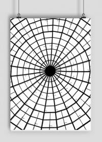 GEOMETRY kołowrotek - plakat A1