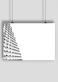 GEOMETRY dachówki - plakat A2