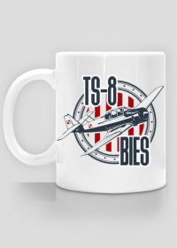 AeroStyle - kubek z samolotem TS-8 Bies