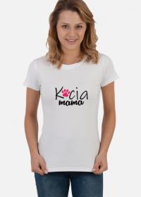 Koszulka damska - Kocia mama