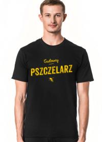 Koszulka z napisem dla pszczelarza Cudowny
