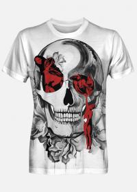 koszulka fullprint b&r skull