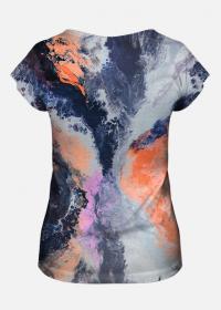 koszulka damska fullprint marble
