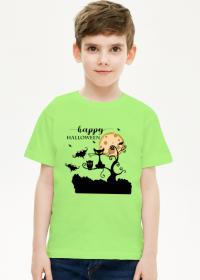 Happy Halloween - koszulka dziecięca z nadrukiem