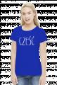 Blogerska koszulka z napisem Cześć