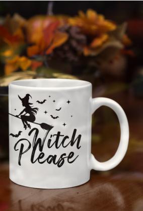 KUBEK HALLOWEEN witch please