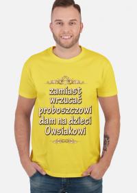 WOSP2019 koszulka męska 1