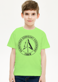 Koszulka EDC Junior kolor DLNF