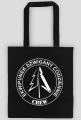 Torba EKO z logo EDC - white