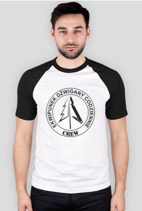 Koszulka EDC vintage B/W DLNF