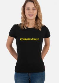 Koszulka damska # III