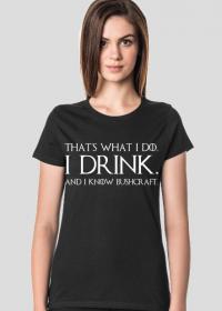 Koszulka damska GoB black